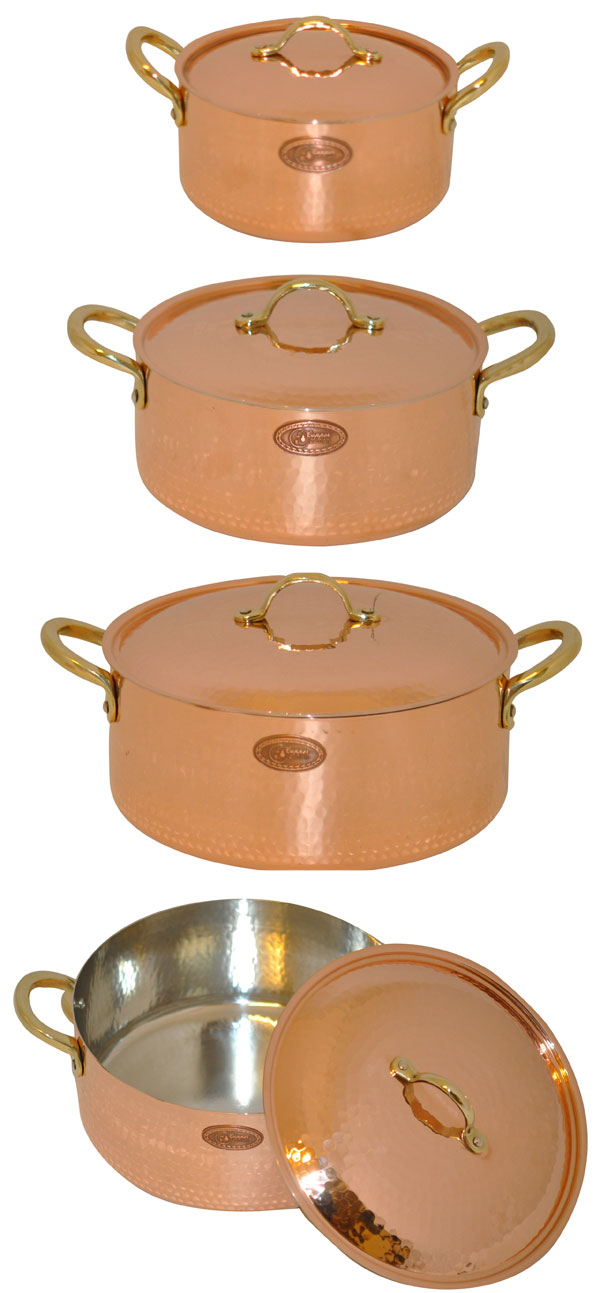kasserollen im set g nstiger coppergarden kupfert pfe. Black Bedroom Furniture Sets. Home Design Ideas