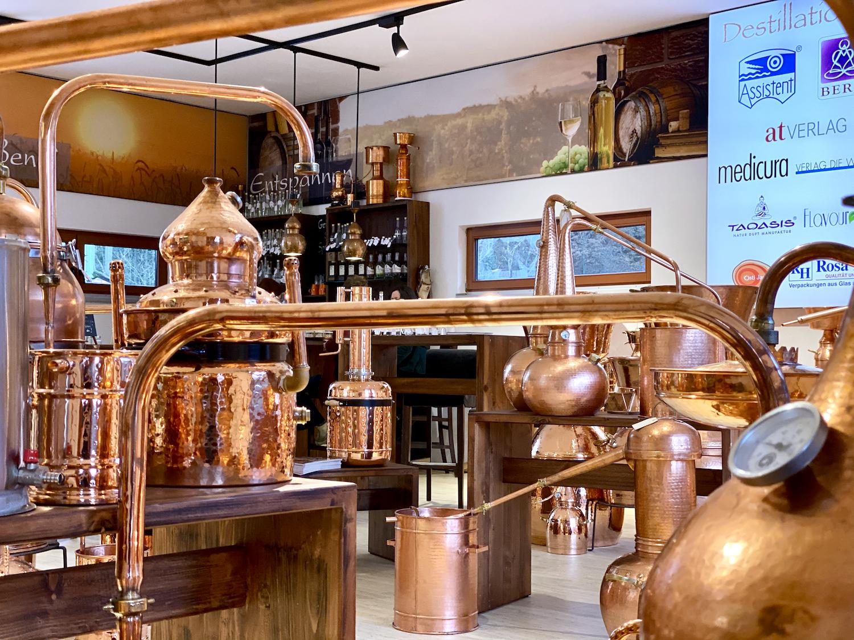 Destillen bei Destillatio